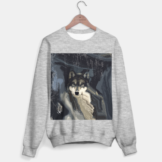 Thumbnail image of Wolf Sweater regular, Live Heroes
