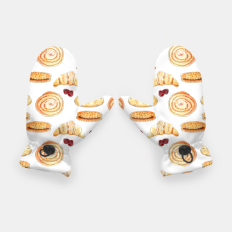 Thumbnail image of Mmmmm..... Watercolor pattern Gloves, Live Heroes