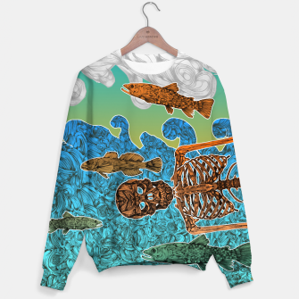 Thumbnail image of Vacations of a Skeleton whit his friends...the fish Sweater, Live Heroes