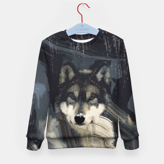 Thumbnail image of Wolf Kid's Sweater, Live Heroes
