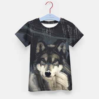 Thumbnail image of Wolf Kid's T-shirt, Live Heroes
