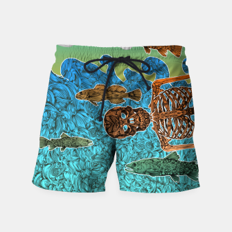 Miniaturka Vacations of a Skeleton whit his friends...the fish Swim Shorts, Live Heroes