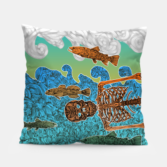 Miniaturka Vacations of a Skeleton whit his friends...the fish Pillow, Live Heroes