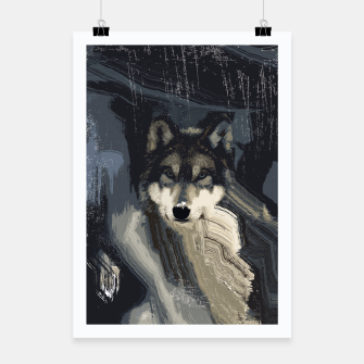 Thumbnail image of Wolf Poster, Live Heroes