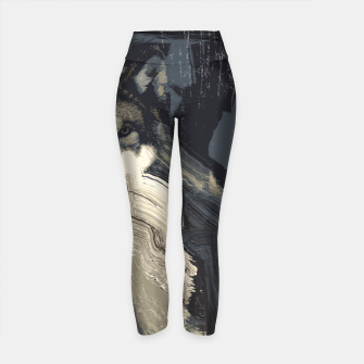 Thumbnail image of Wolf Yoga Pants, Live Heroes