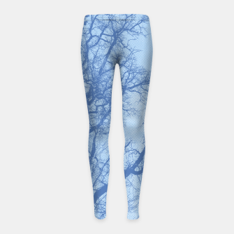 Thumbnail image of Tree branches - Winter in Opatija#4 Girl's Leggings, Live Heroes