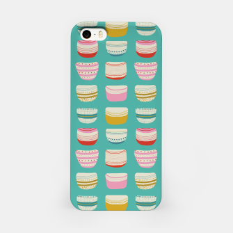 Thumbnail image of Bowl pattern iPhone Case, Live Heroes