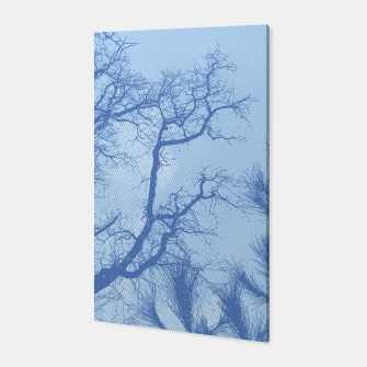 Thumbnail image of Tree branches - Winter in Opatija#4 Canvas, Live Heroes