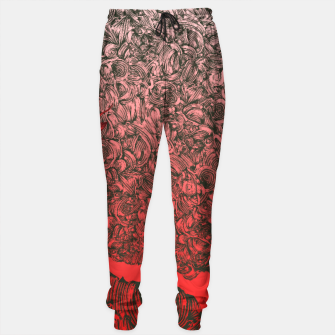 Thumbnail image of Complex Heart Sweatpants, Live Heroes