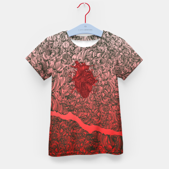 Thumbnail image of Complex Heart Kid's T-shirt, Live Heroes