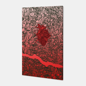 Thumbnail image of Complex Heart Canvas, Live Heroes