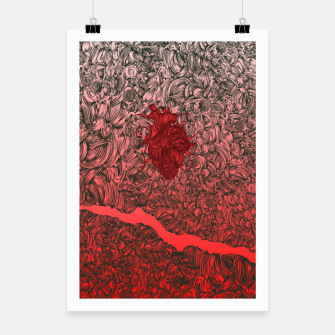 Thumbnail image of Complex Heart Poster, Live Heroes