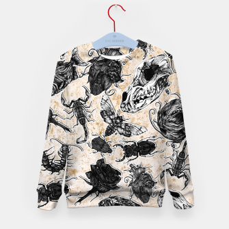 Thumbnail image of Bones and co 2 Kid's Sweater, Live Heroes