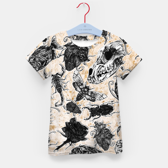 Thumbnail image of Bones and co 2 Kid's T-shirt, Live Heroes