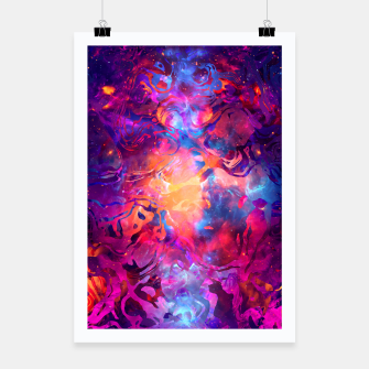Thumbnail image of Marble Nebula Poster, Live Heroes