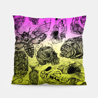 Thumbnail image of Bones and color Pillow, Live Heroes
