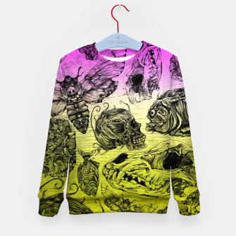 Thumbnail image of Bones and color Kid's Sweater, Live Heroes
