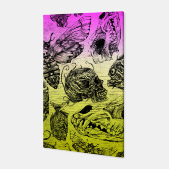 Thumbnail image of Bones and color Canvas, Live Heroes