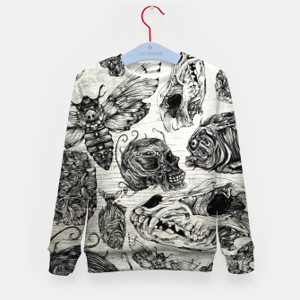 Thumbnail image of Bones and co Kid's Sweater, Live Heroes