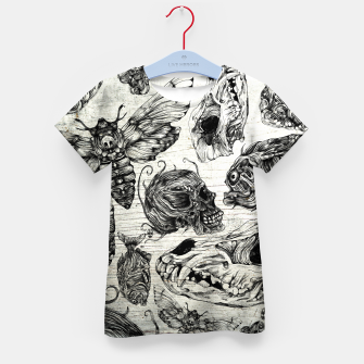 Thumbnail image of Bones and co Kid's T-shirt, Live Heroes