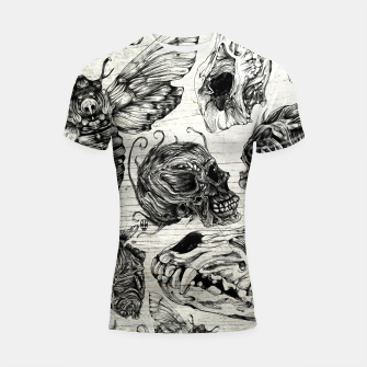 Miniature de image de Bones and co Shortsleeve Rashguard, Live Heroes