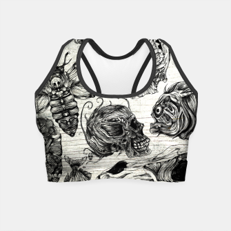 Miniature de image de Bones and co Crop Top, Live Heroes