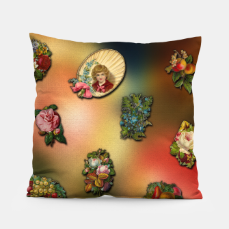 Thumbnail image of VinClip Classic Art Pillow, Live Heroes