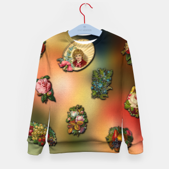 Thumbnail image of VinClip Classic Art Kid's Sweater, Live Heroes
