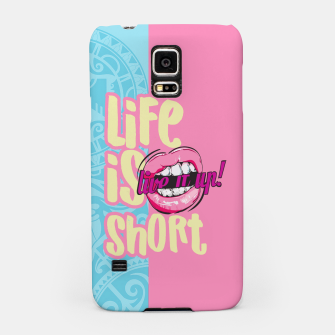 Miniaturka LIFE IS SHOP, LIVE IT! SUMMER LOVE Carcasa por Samsung, Live Heroes