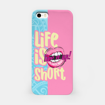 Thumbnail image of LIFE IS SHOP, LIVE IT! SUMMER LOVE Carcasa por Iphone, Live Heroes
