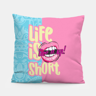 Miniaturka LIFE IS SHOP, LIVE IT! SUMMER LOVE Almohada, Live Heroes