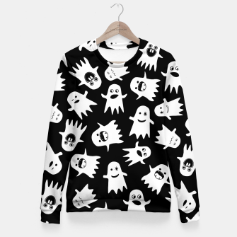 Miniaturka Halloween Hauntings Fitted Waist Sweater, Live Heroes