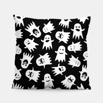 Thumbnail image of Halloween Hauntings Pillow, Live Heroes