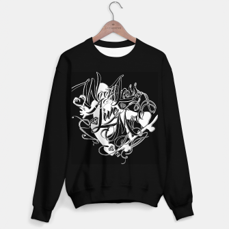 Thumbnail image of WorryLessLiveMore Black Sweater regular, Live Heroes