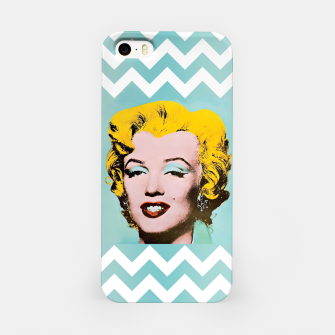 Thumbnail image of marilyn monroe andy warhol iPhone Case, Live Heroes