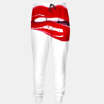Thumbnail image of Red lips Sweatpants, Live Heroes