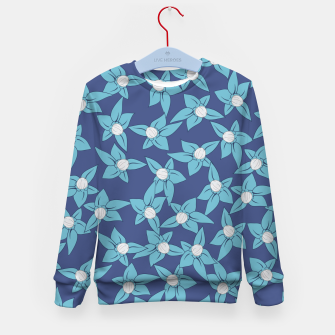 Thumbnail image of Summer Flowers Widowmaker Kid's Sweater, Live Heroes