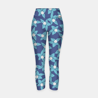 Thumbnail image of Summer Flowers Widowmaker Yoga Pants, Live Heroes