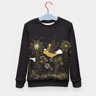 Thumbnail image of Goldilock Kid's Sweater, Live Heroes