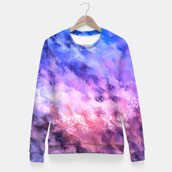 Miniaturka Abstraction Fitted Waist Sweater, Live Heroes