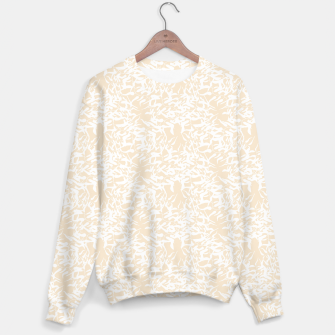Thumbnail image of White leaves Sweater, Live Heroes