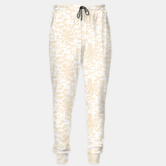 Thumbnail image of White leaves Sweatpants, Live Heroes
