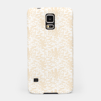 Miniaturka White leaves Samsung Case, Live Heroes