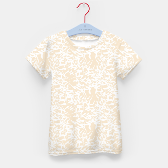 Thumbnail image of White leaves Kid's T-shirt, Live Heroes
