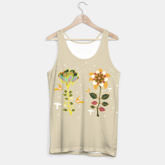 Thumbnail image of 2 Flowers Tank Top, Live Heroes