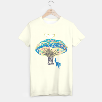 Imagen en miniatura de tree and fox T-shirt, Live Heroes