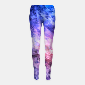 Miniatur Abstraction Girl's Leggings, Live Heroes