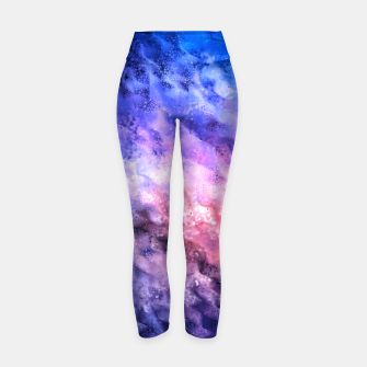 Thumbnail image of Abstraction Yoga Pants, Live Heroes