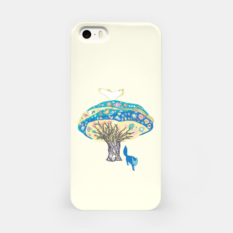 Thumbnail image of tree and fox iPhone Case, Live Heroes