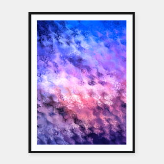 Miniaturka Abstraction Framed poster, Live Heroes
